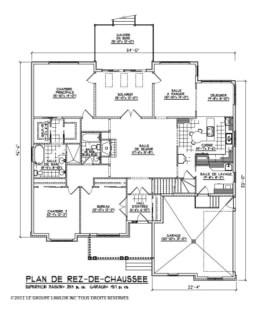 Plan De Maison De Luxe. Plan De Maison Facade Amnagement Intrieur Et ...